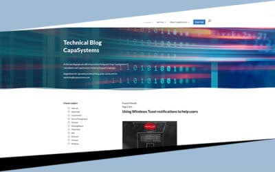 We welcome CapaSystems Technical Blog