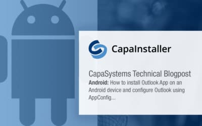 Android: How to install Outlook App on an Android device and configure Outlook using AppConfig