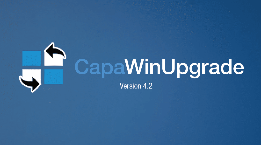 CapaWinUpgrade – the easiest solution